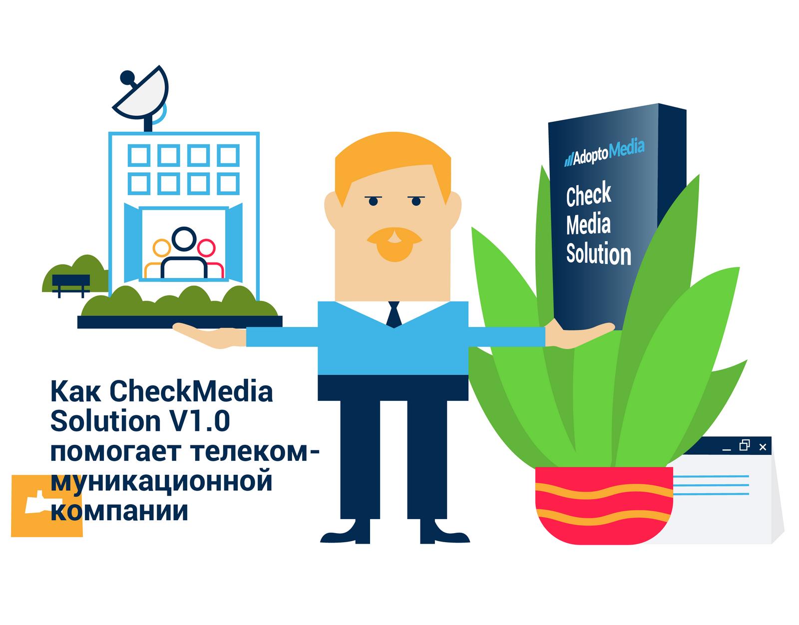телекоммуникационная компания, AdoptoMedia, CheckMedia Solution, Медиа План Менеджер, управление маркетинговыми ресурсами, маркетинг, оптимизация рекламного бюджета