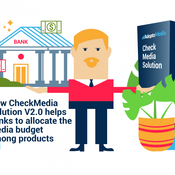 AdoptoMedia, CheckMedia Solution, Bank's Media Mix, Marketing Resource Management, allocating the media budget