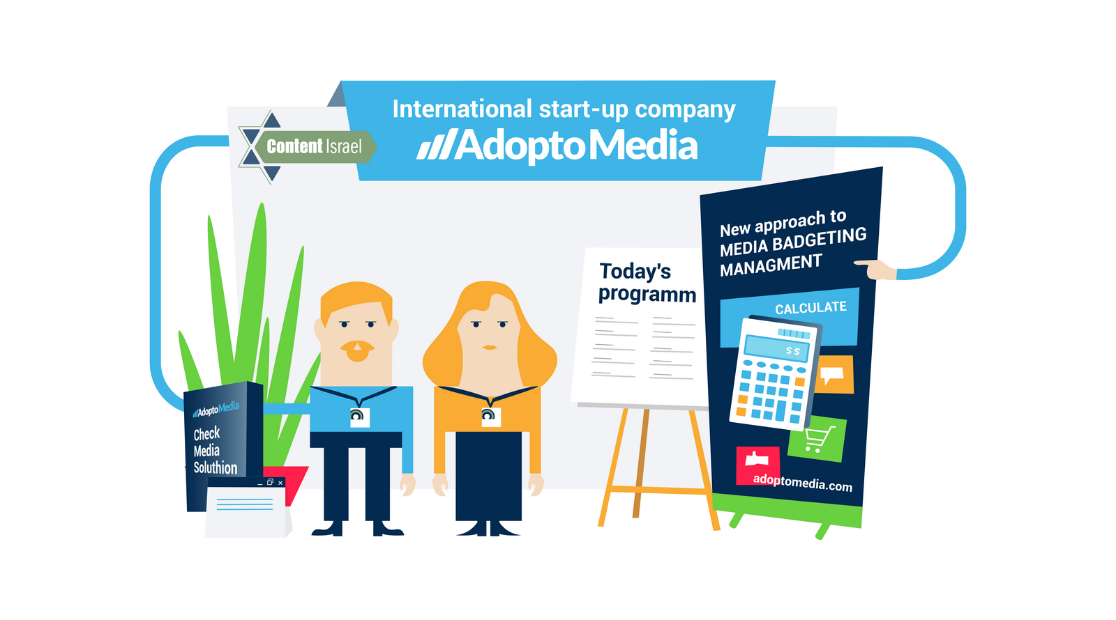 AdoptoMedia, Content Israel, конференция в Израиле, маркетинг, оптимизация рекламного бюджета, эффективность рекламы