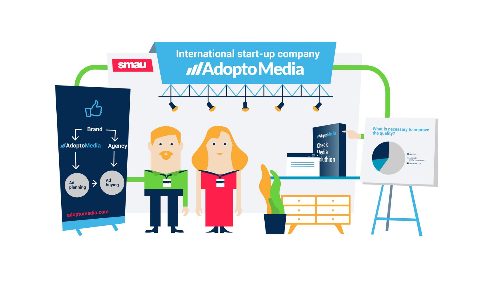 SMAU Milano 2017, SMAU. AdoptoMedia, CheckMedia Solution, advertising channels, marketing