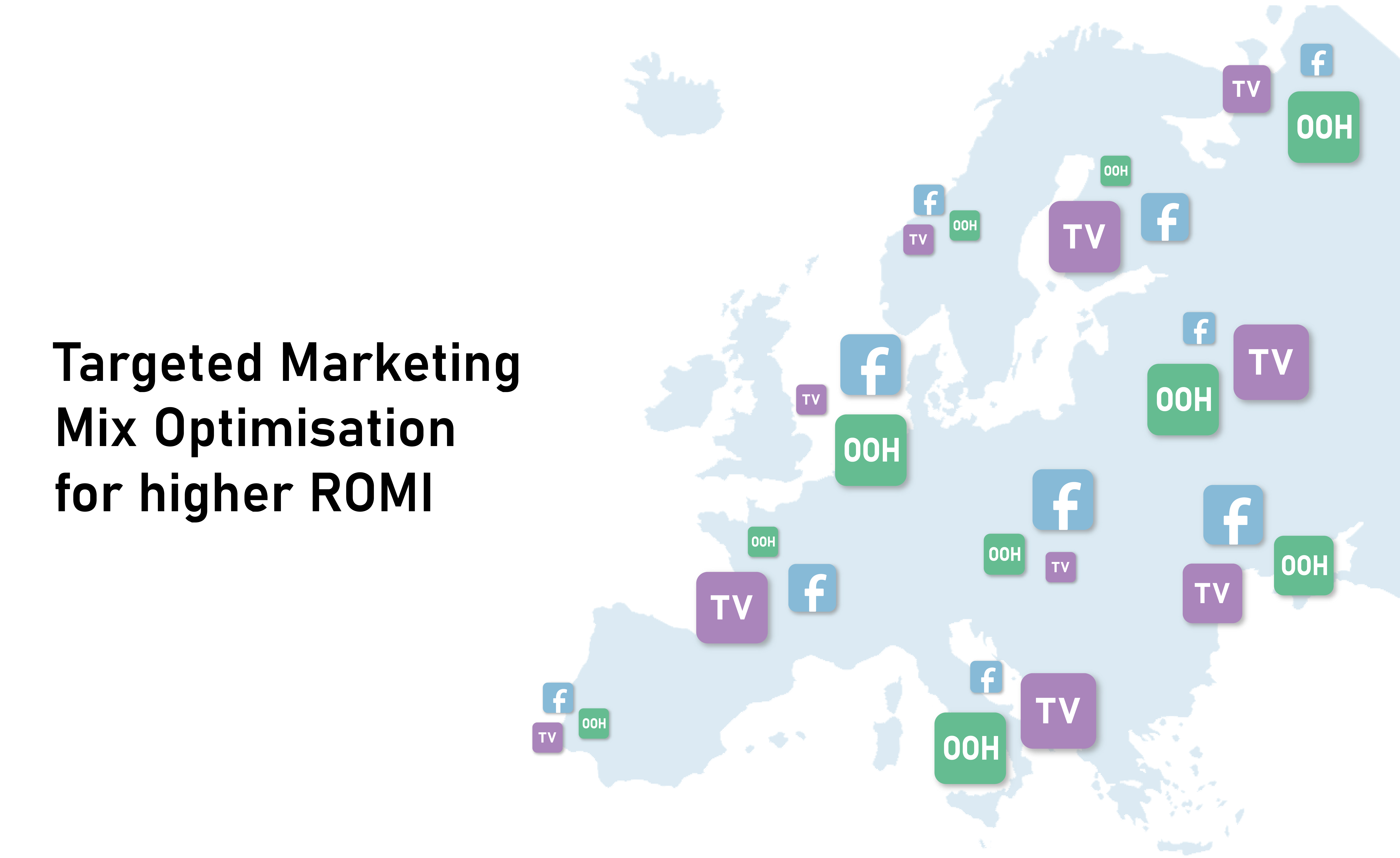 Marketing Mix Modelind, MMM, Media Mix Optimisation, targeted advertising