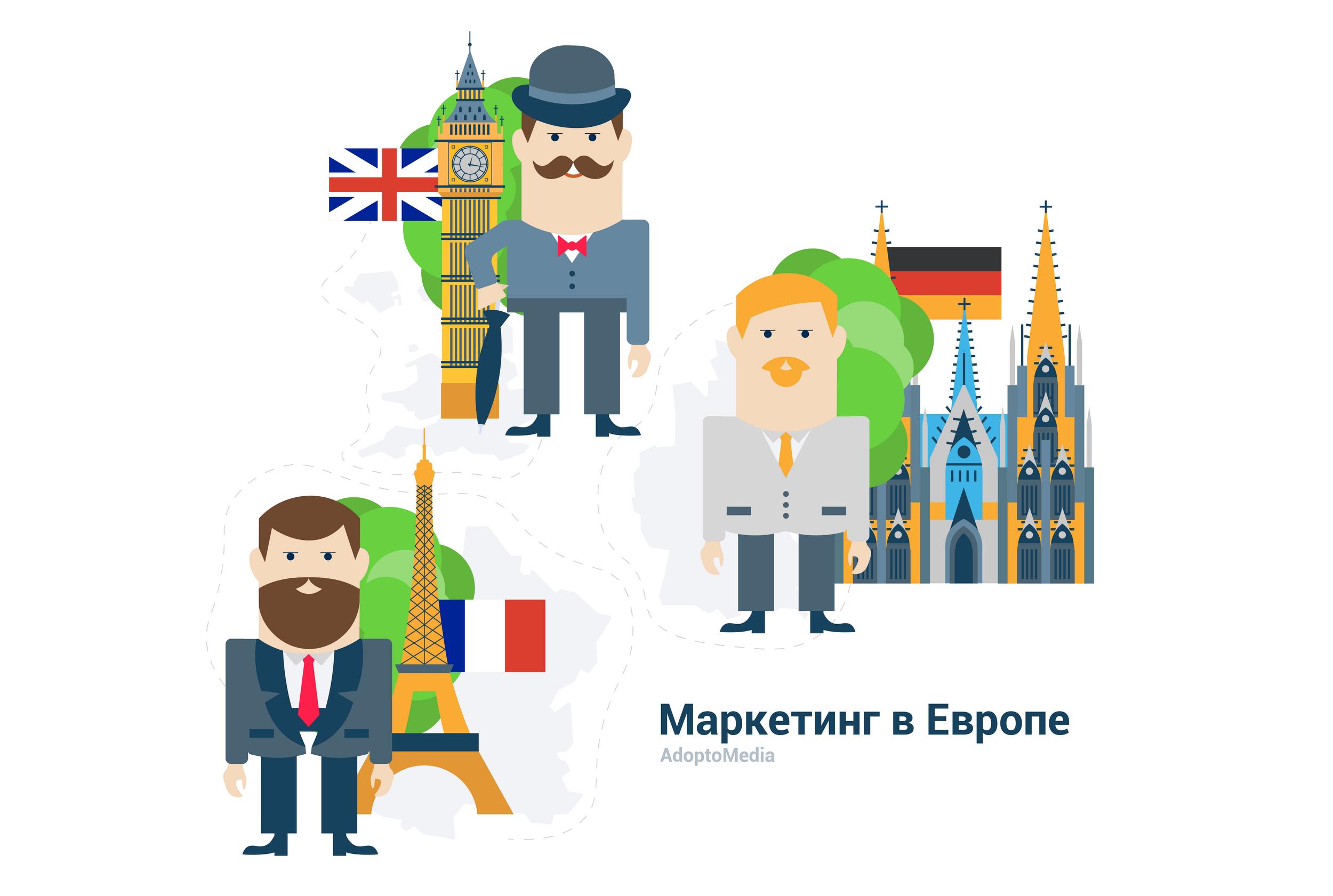 маркетинг в Европе, маркетинг в ЕС, Великобритания, Франция, Германия, маркетинговые тенденции, измерение ROMI, увеличение ROMI, автоматизация маркетинга, маркетинговые технологии